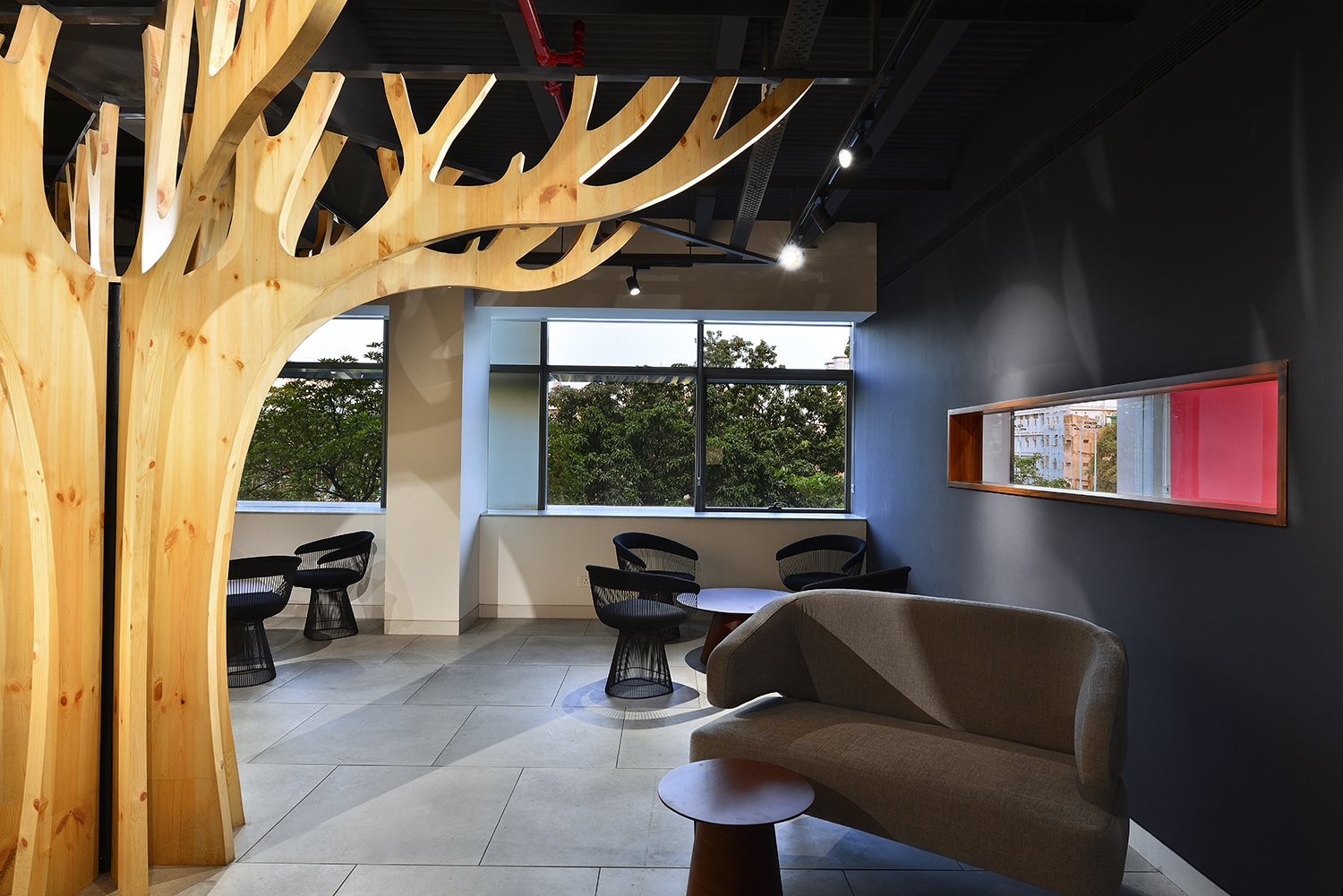 View of the Client Entertainment Lounge Ravi Kanade