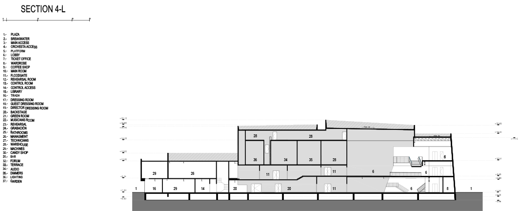 Section 4 Rojkind Arquitectos}