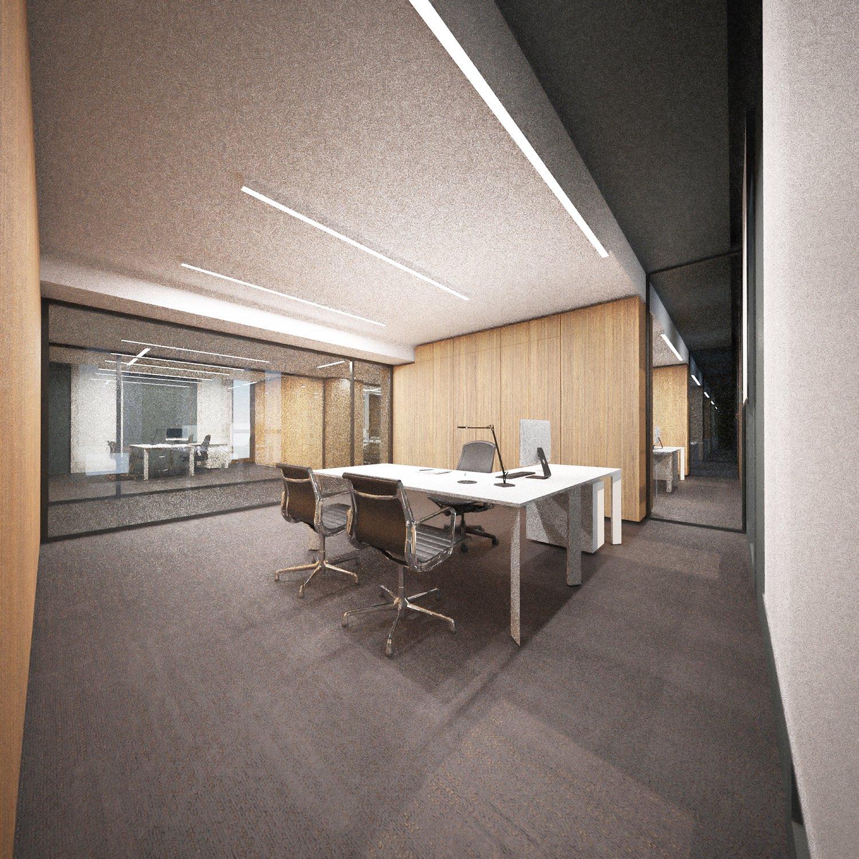vista interna uffici Westway Architects}