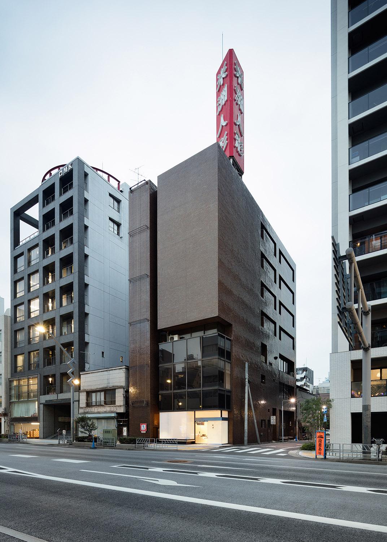 The Beishu Building. Takumi Ota photography