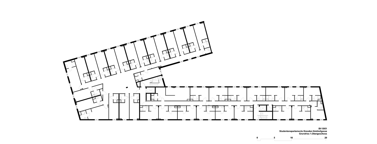 1st floor plan Tchoban Voss Architekten}