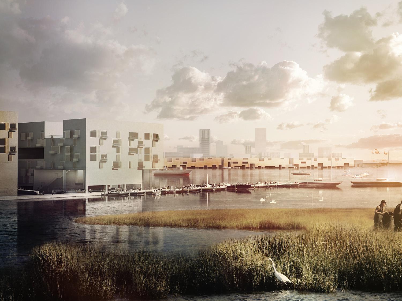 Bight City, Jamaica Bay, 2067 DLANDstudio Architecture and Landscape Architecture + Rafi Segal
