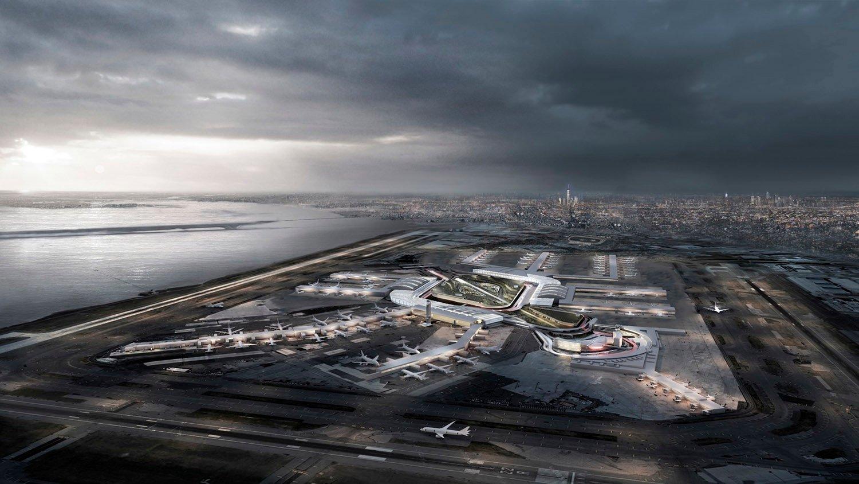 JFK Airport Transformation, Jamaica Bay, 2067 DLANDstudio Architecture and Landscape Architecture + Rafi Segal