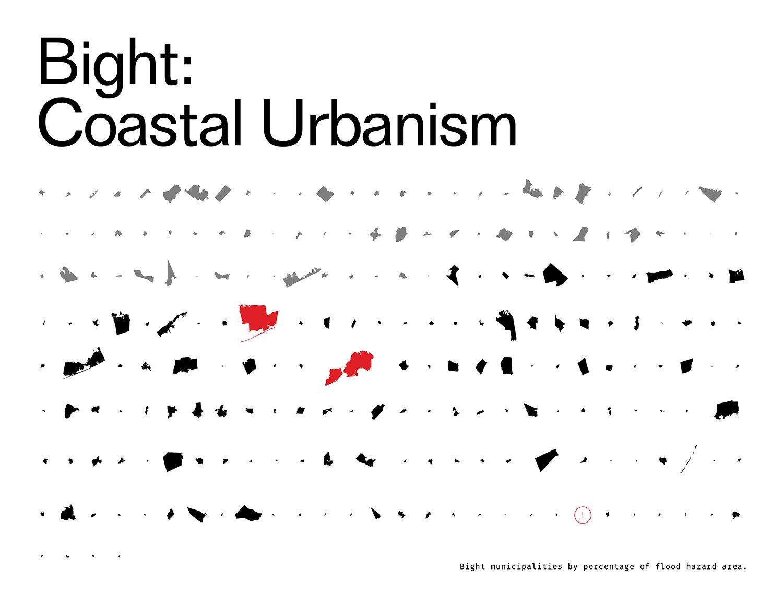 Bight municipalities by percentage of flood hazard area DLANDstudio Architecture and Landscape Architecture + Rafi Segal}