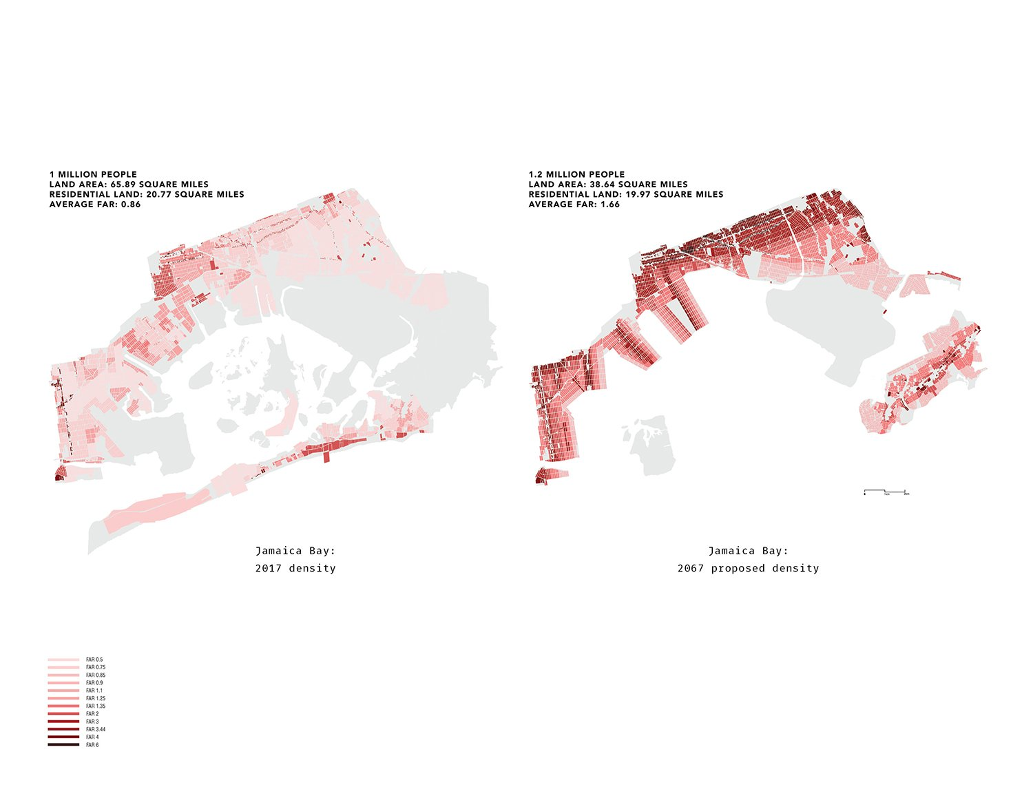 Population Density Strategy, Jamaica Bay  DLANDstudio Architecture and Landscape Architecture + Rafi Segal}