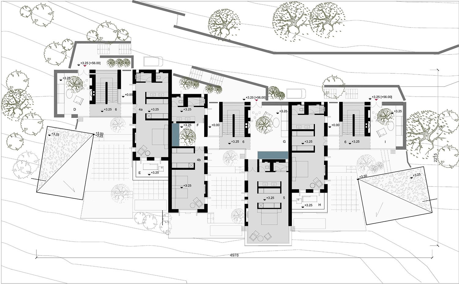 Typical Plan of the Unit Clusters TABANLIOGLU ARCHITECTS}