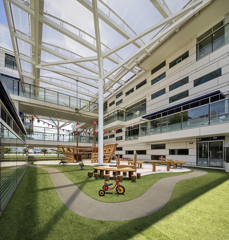 Level 2 play area  Bogle Architects - Infinitude