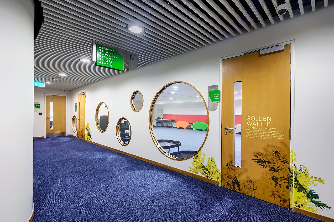 Child-friendly internal window apertures Bogle Architects - Infinitude