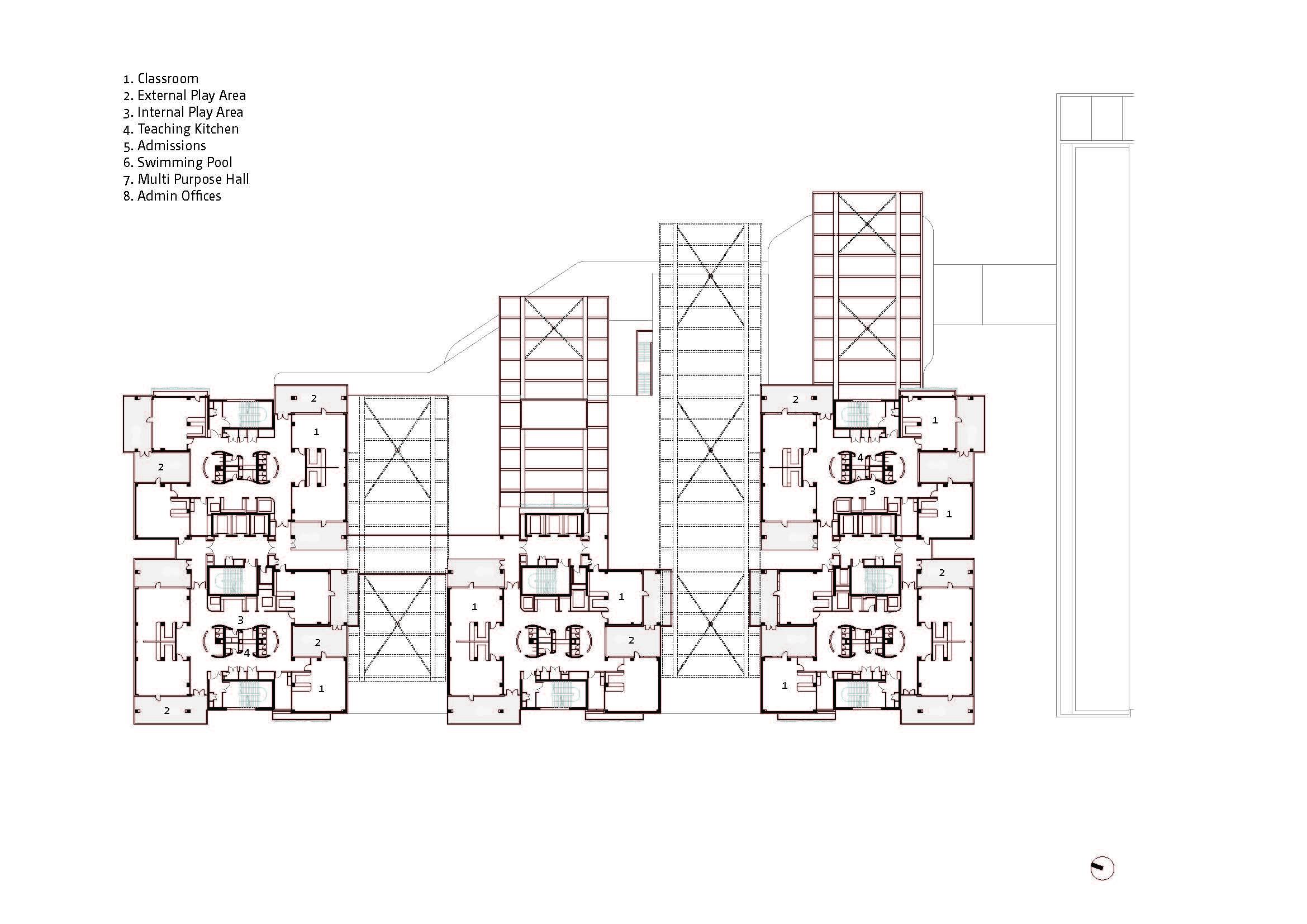 Plan - Level 5 Bogle Architects}