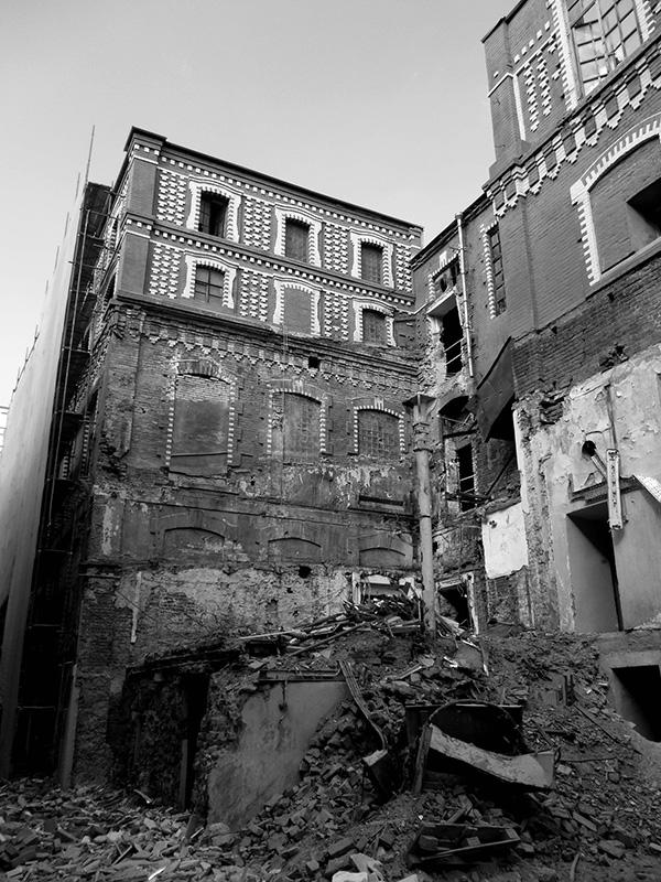 Bolshevik Factory prior to development }