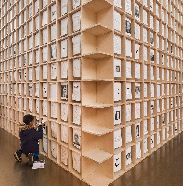 Book walls Luc Boegly