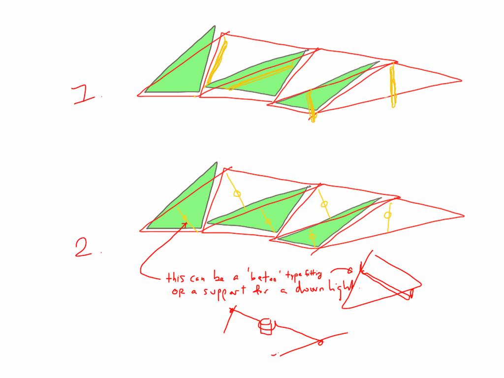 Timber Ceiling Sketch Study 1 bucholz mcevoy architects}
