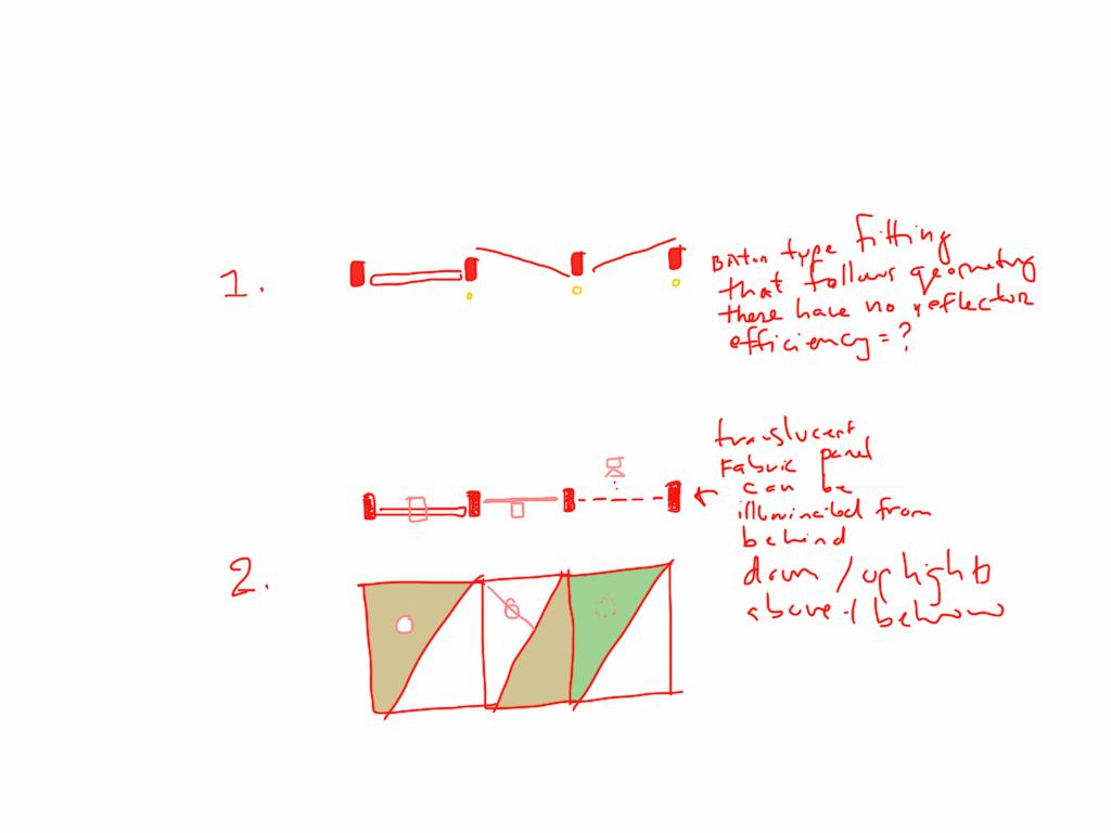 Timber Ceiling Sketch Study 2 bucholz mcevoy architects}
