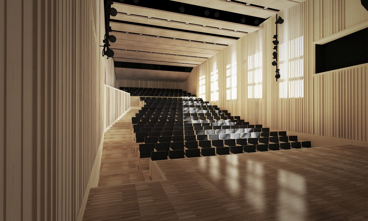 Music Hall rendering }