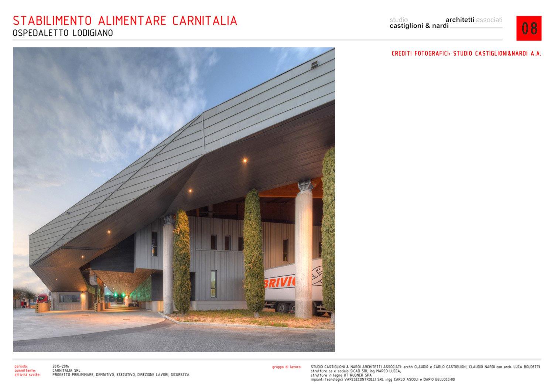 VISTA DI DETTAGLIO DELLA ZONA DI ARRIVO MERCI STUDIO CASTIGLIONI & NARDI ARCHITETTI ASSOCIATI