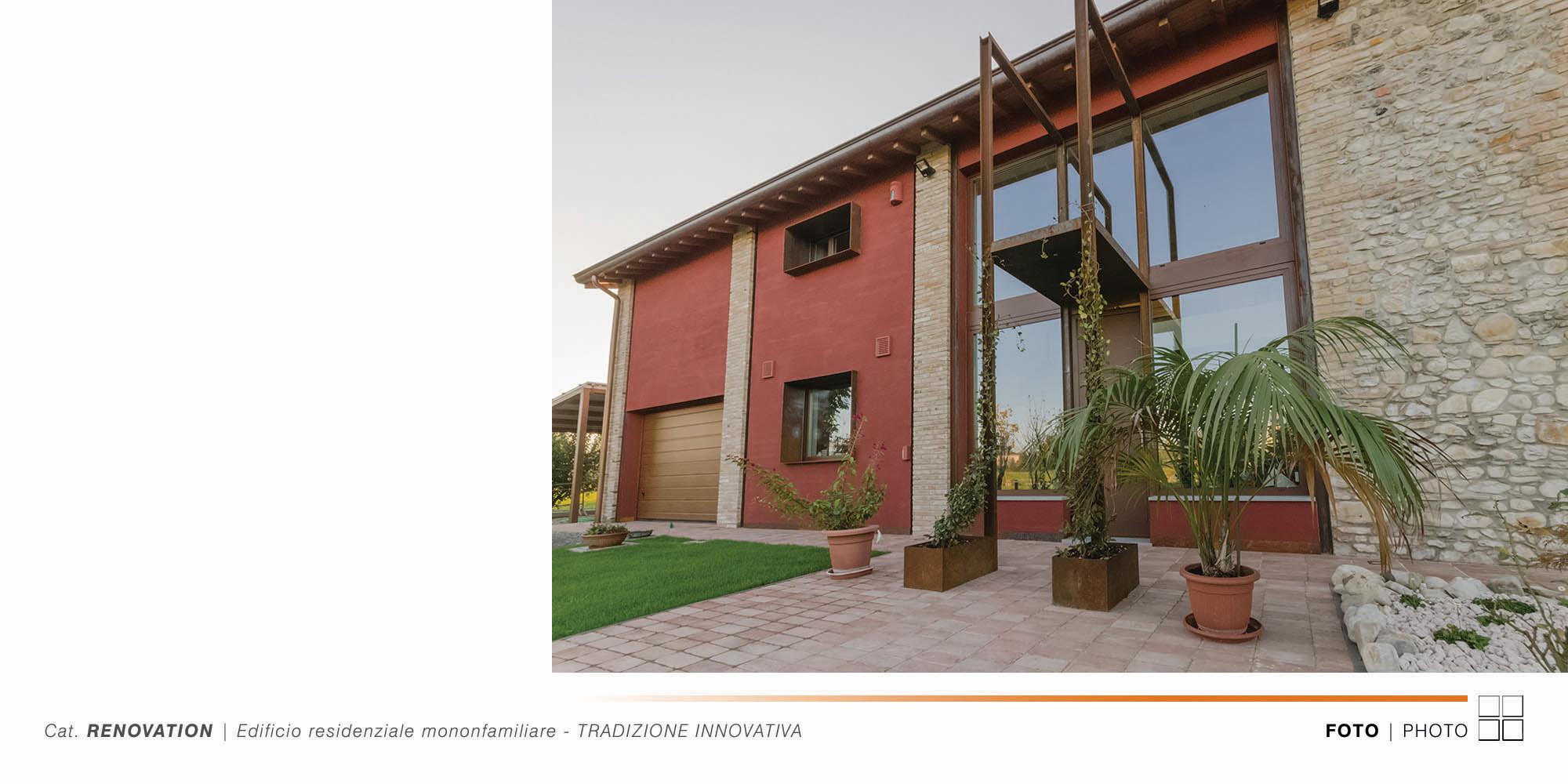 Edificio Residenziale Monofamiliare - TRADIZIONE INNOVATIVA - 003