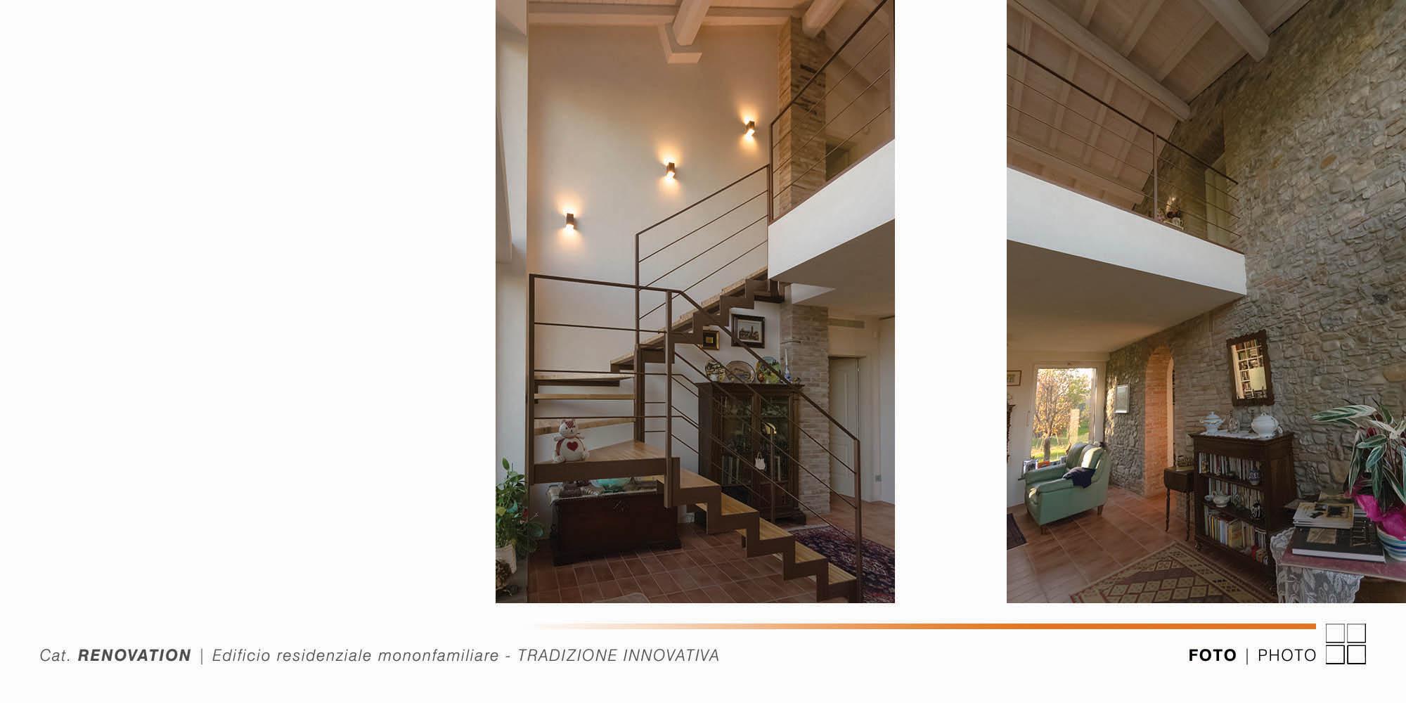 Edificio Residenziale Monofamiliare - TRADIZIONE INNOVATIVA - 009