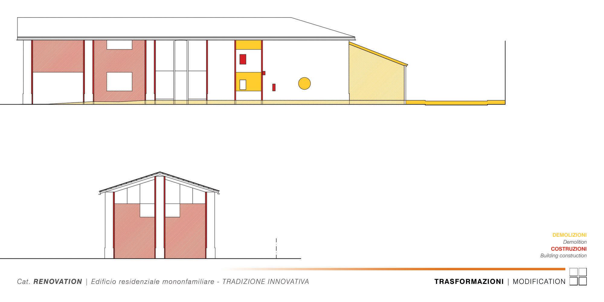 Edificio Residenziale Monofamiliare - TRADIZIONE INNOVATIVA - 010 - E.E.-S.E. Modification }