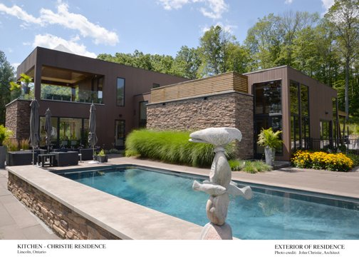 Exterior of Residence Architect