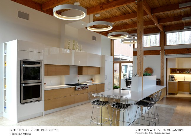 Kitchen with View of Pantry Architect