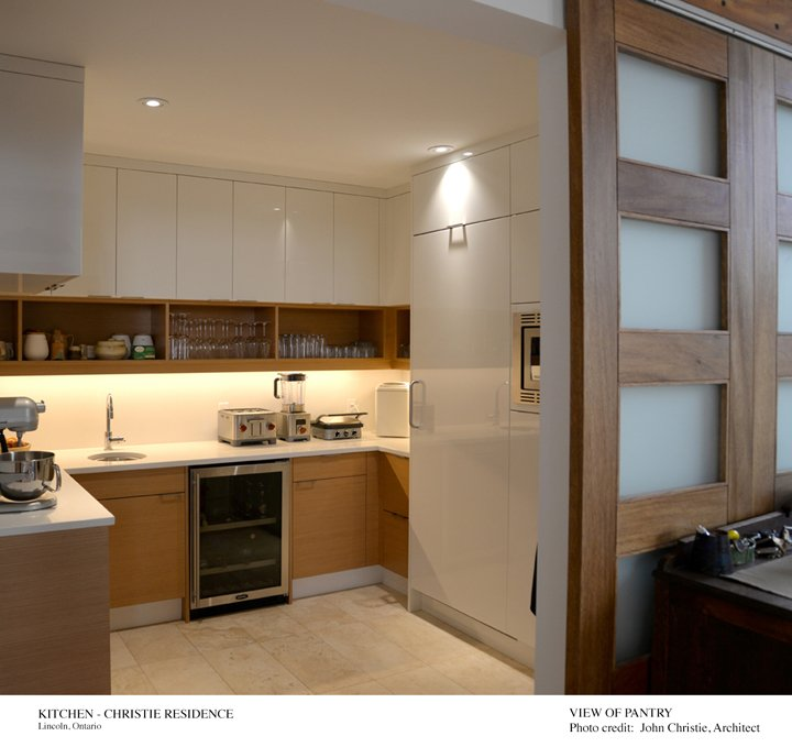 View of Pantry Architect