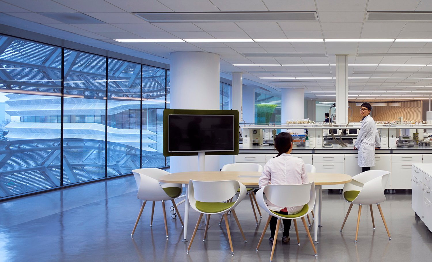 Collaborative lab space Christopher Barrett