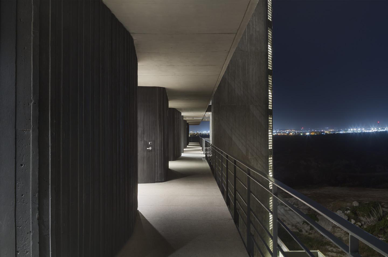 Room access corridor