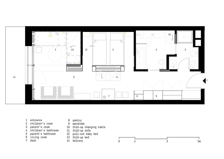 Floor plan Standard room }
