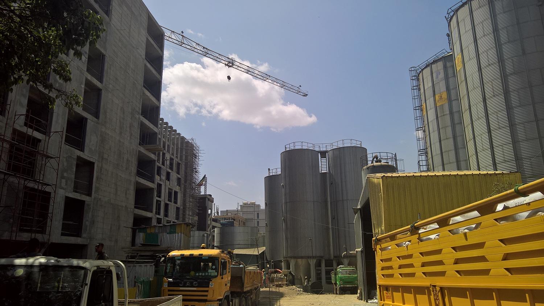 area di produzione lato nord westway architects