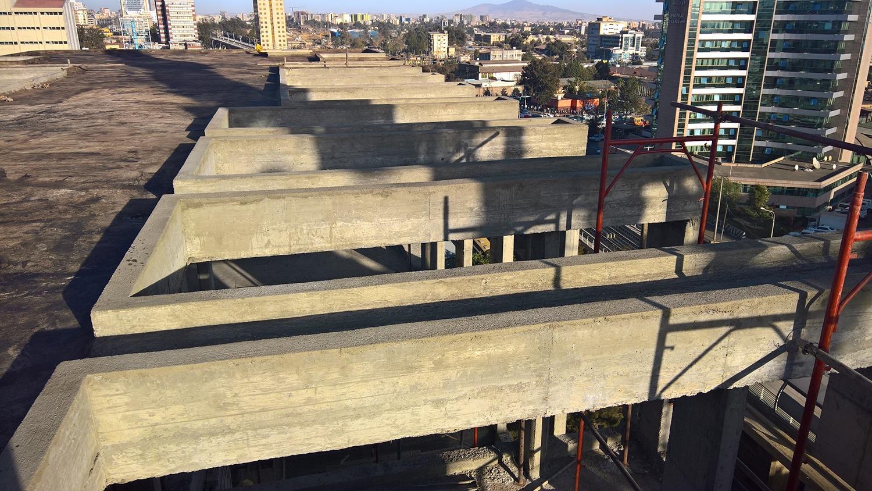 aperture in copertura in corrispondenza delle terrazze degli appartamenti westway architects