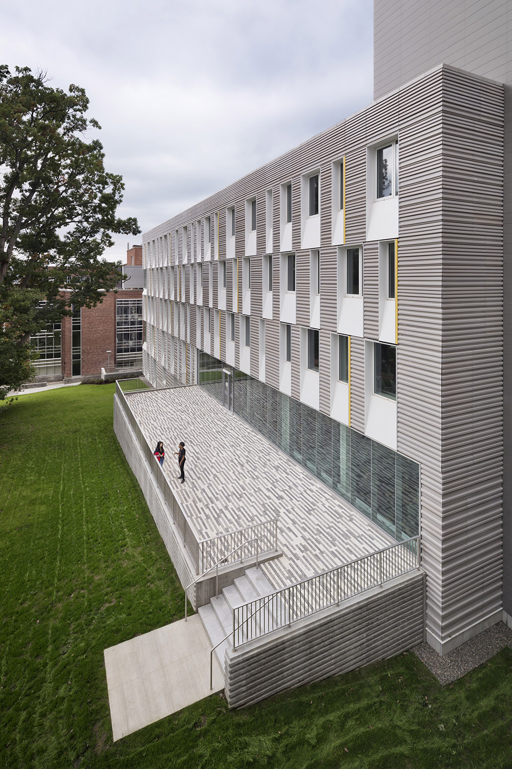 Cornell University Upson Hall: South Facade Michael Moran