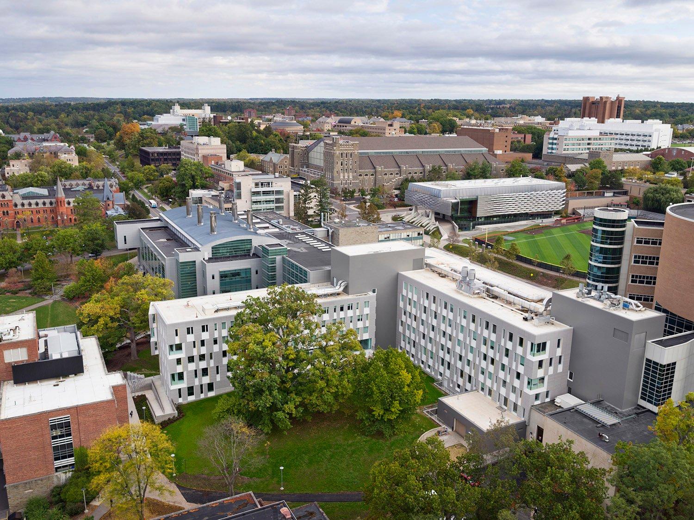 Cornell University Upson Hall: Aerial Michael Moran