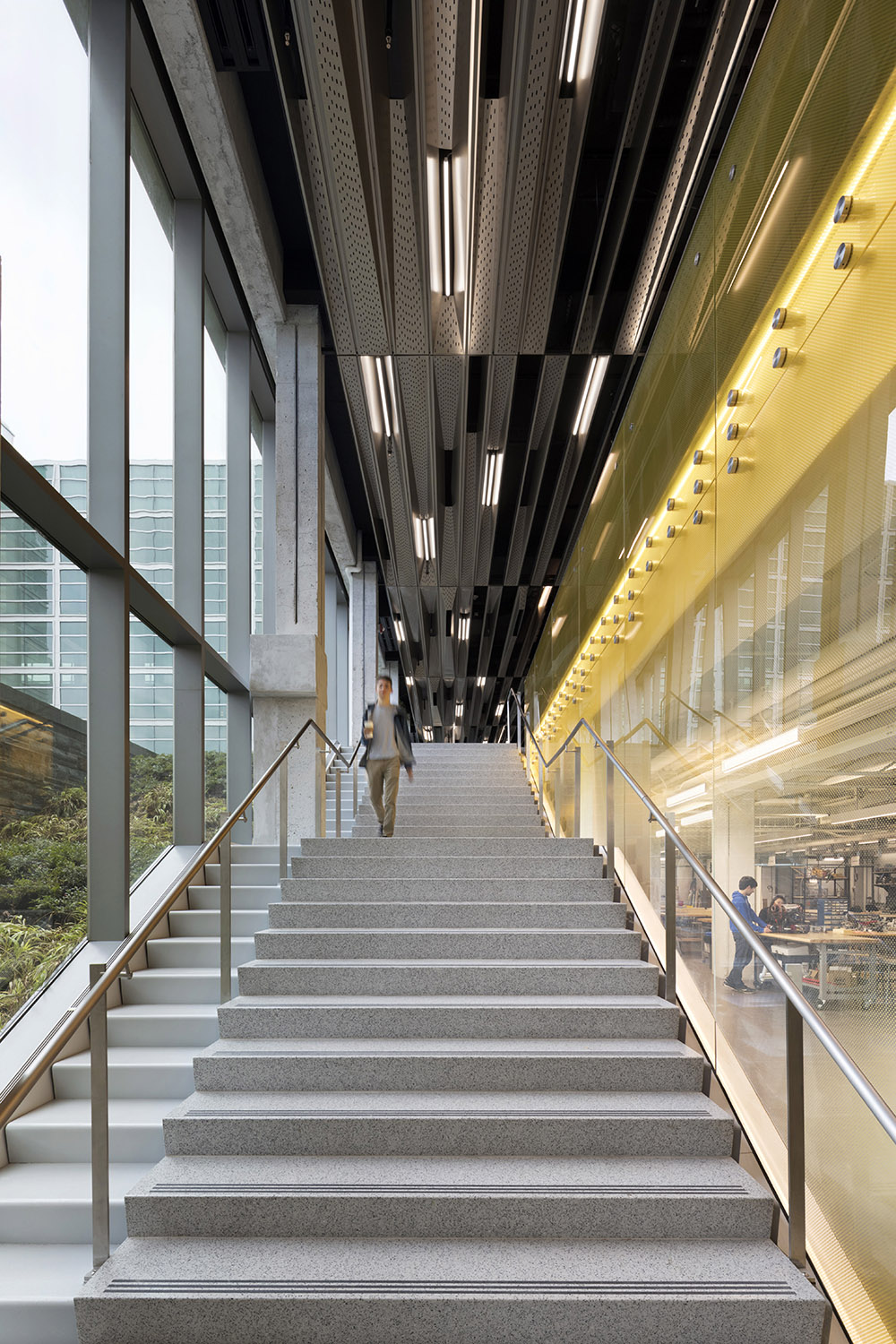 Cornell University Upson Hall: New Double-Height Main Staircase Michael Moran