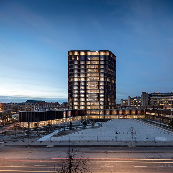 Maersk Tower, extension of the Panum complex at the University of Copenhagen