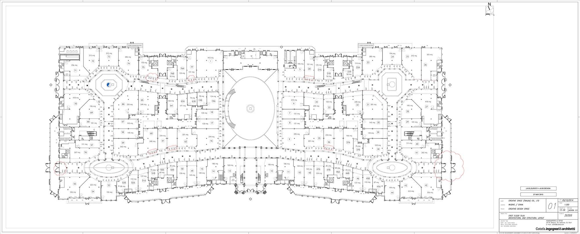 Creativo's First floor }