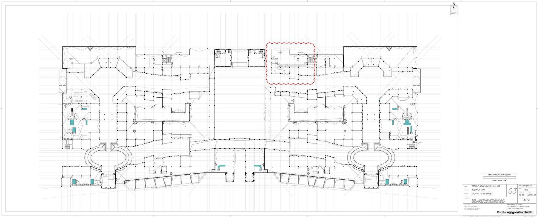 Creativo's Third floor }