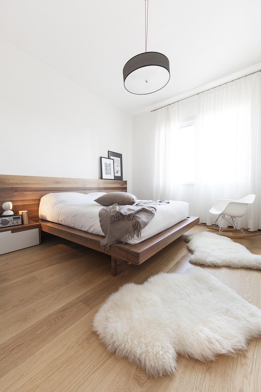 Vista camera da letto makethatstudio
