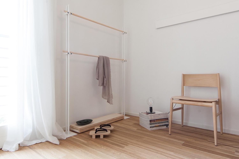 Dettaglio camera da letto makethatstudio