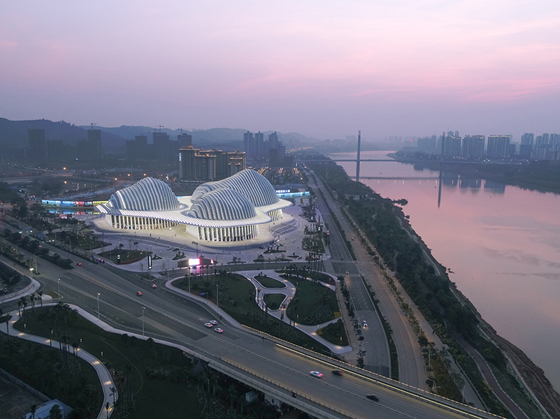 Guangxi Culture and Art Center, Nanning, China