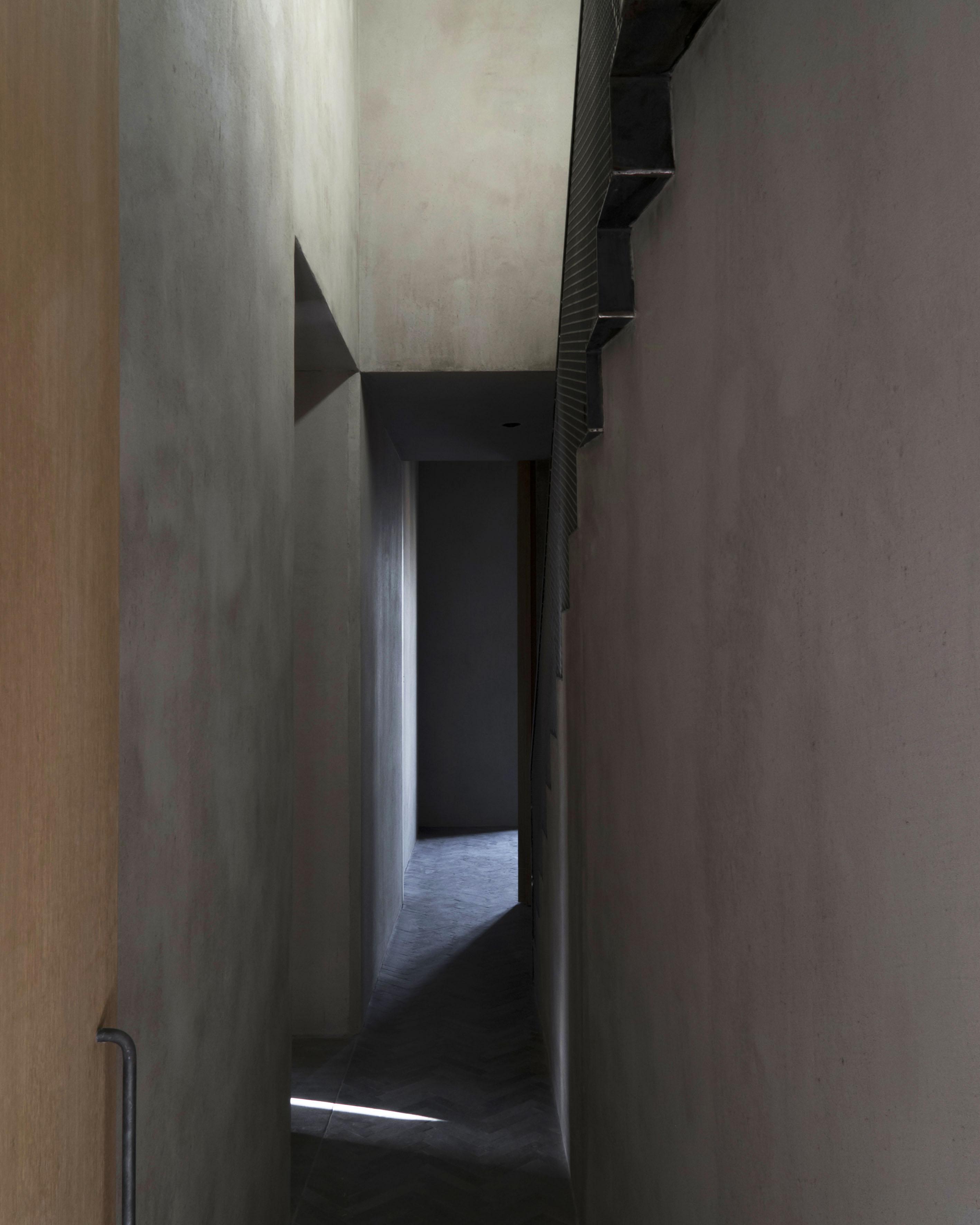 Passageway to Sleeping Areas