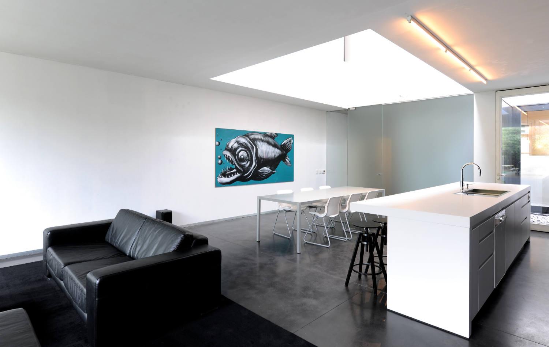 The kitchen as a pure & contemporary design Het Laatste Nieuws