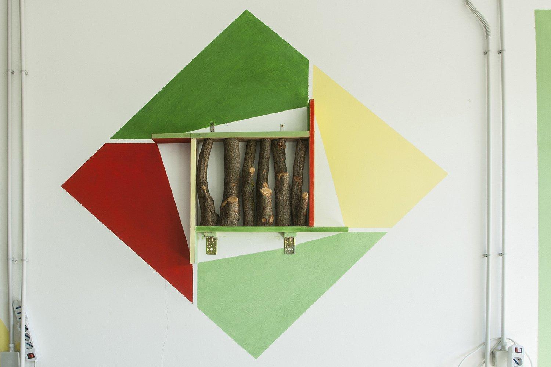 Aula _ dettaglio porta oggetti  Photo: Stefano Mont Y Girbes, VIVIAMOLAq