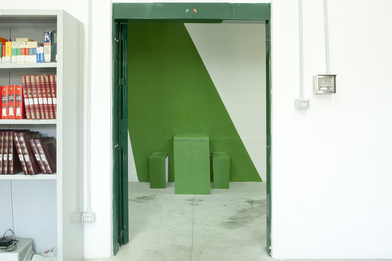 Corridoio _ dettaglio seduta Photo: Stefano Mont Y Girbes, VIVIAMOLAq