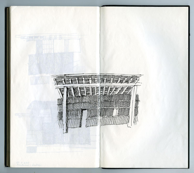 Sketch book 8, 2012 Michele De Lucchi}