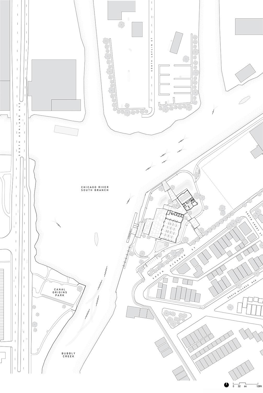 Eleanor Boathouse Site Plan }