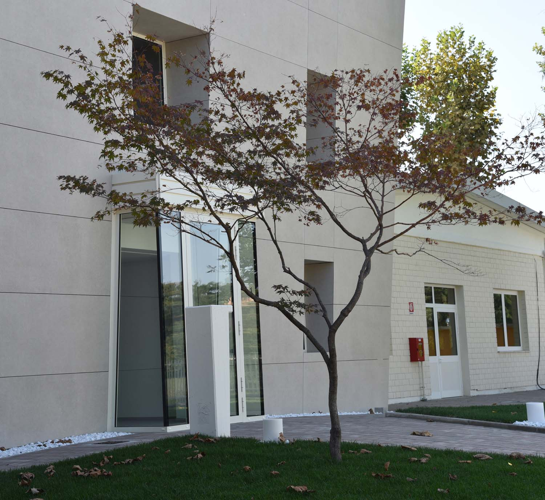 Vista esterna dell'edificio Elisa Stocchi