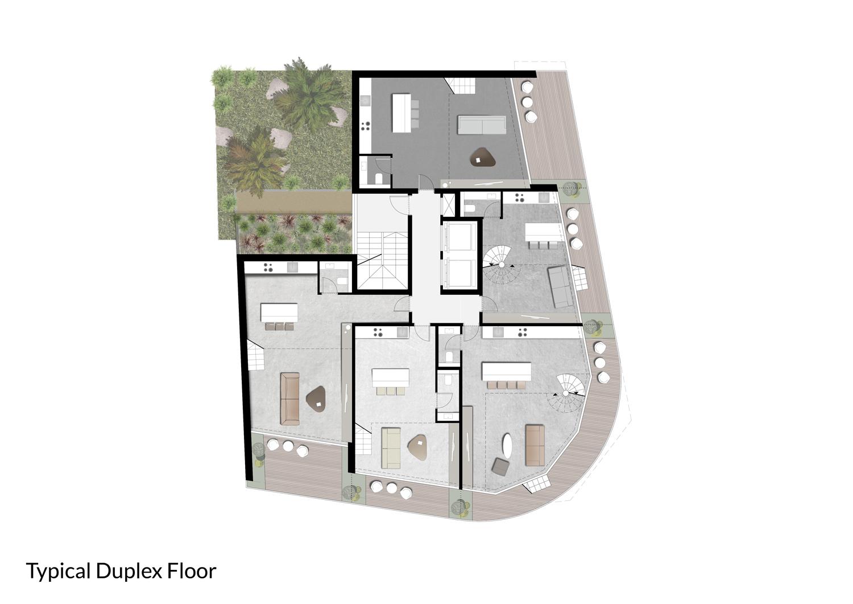 Duplex Floor }
