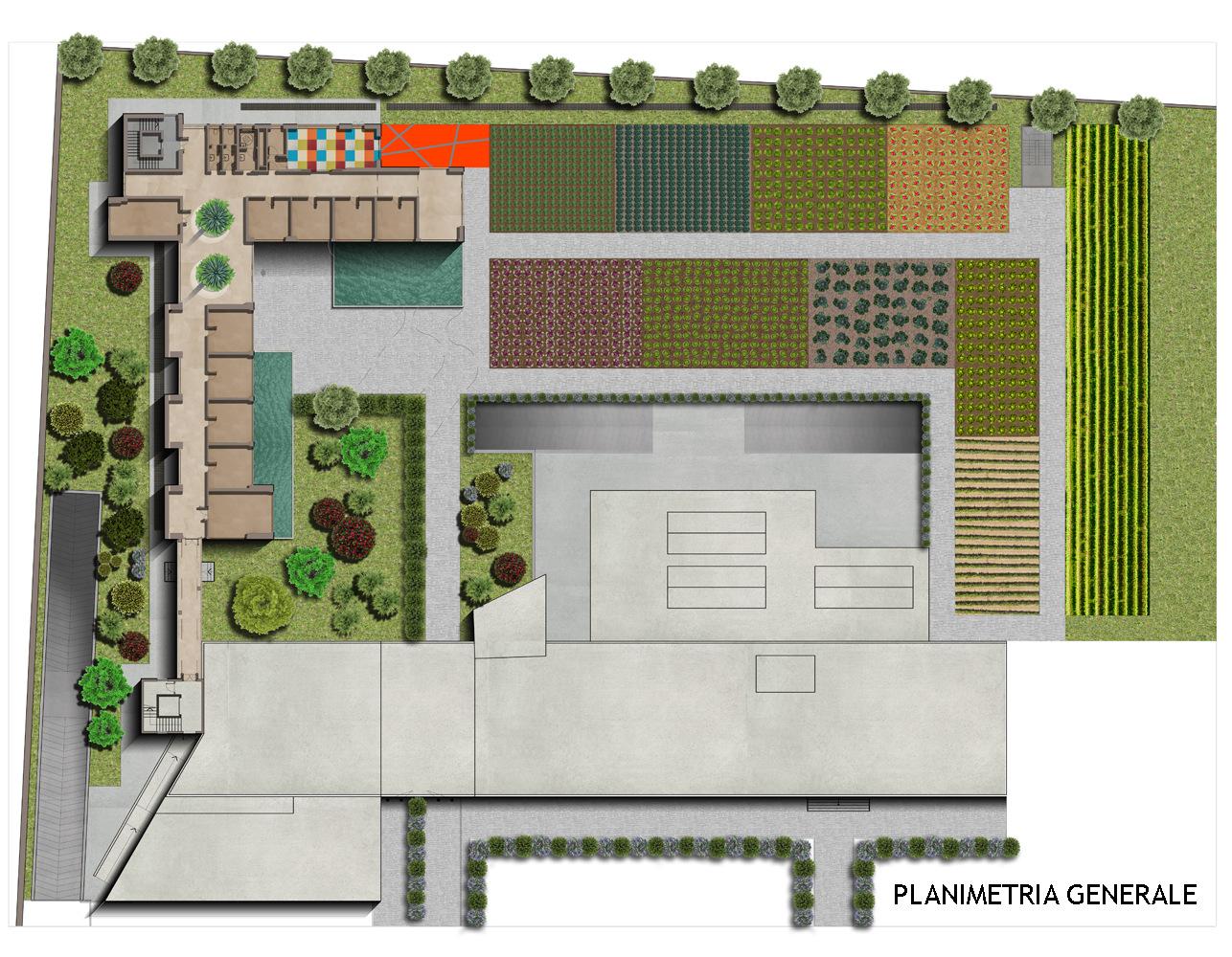 Planimetria generale / Master Plan }