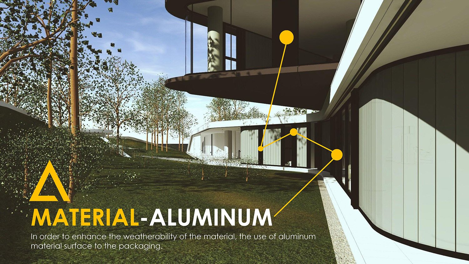 MATERIAL-ALUMINUM Chain10 Architecture & Interior Design Institute}