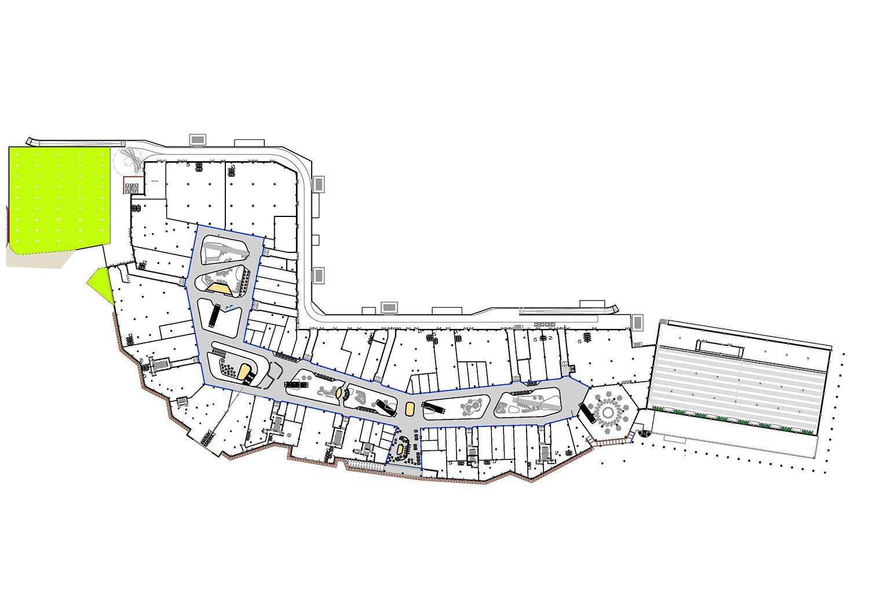 First floor © architetto Michele De Lucchi S.r.l.}